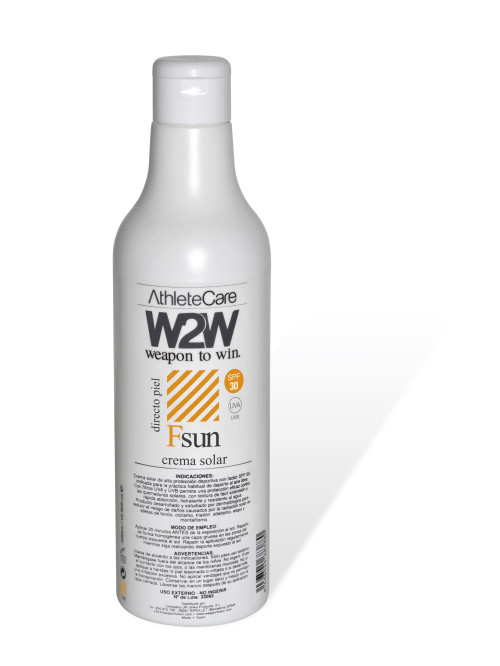 W2W botella Fsun 30 SPF 500 ml